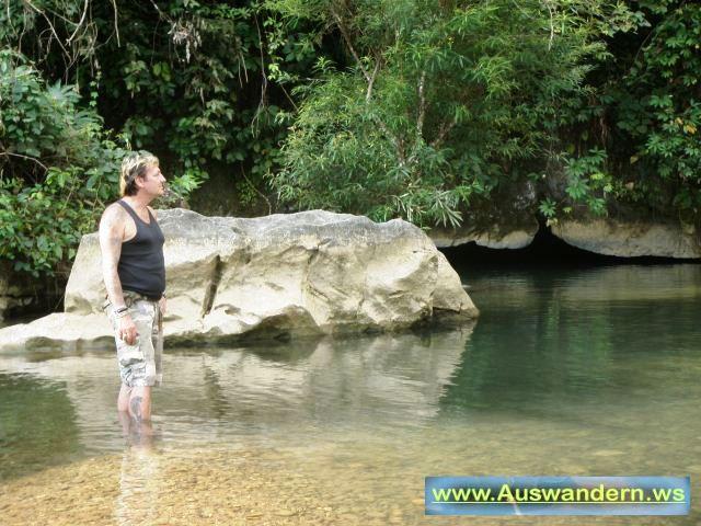 Vangvieng Tropfstein Höhle in Laos