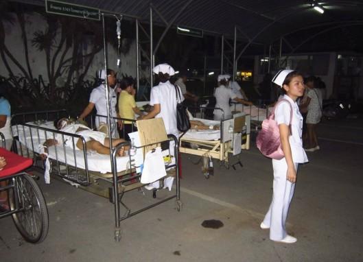 Thailand-Erdbeben-Laos-Burma