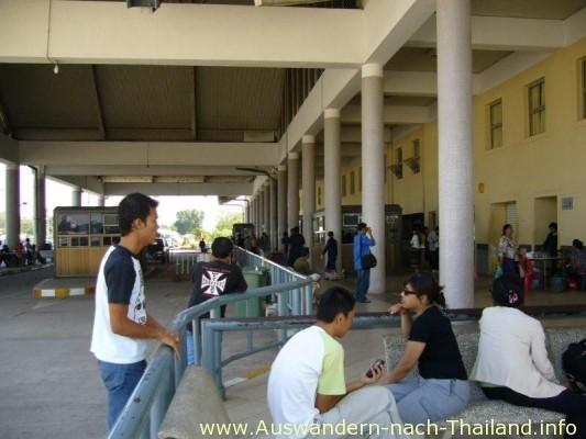 Grenzuebergang von NongKhai - Thailand nach Laos