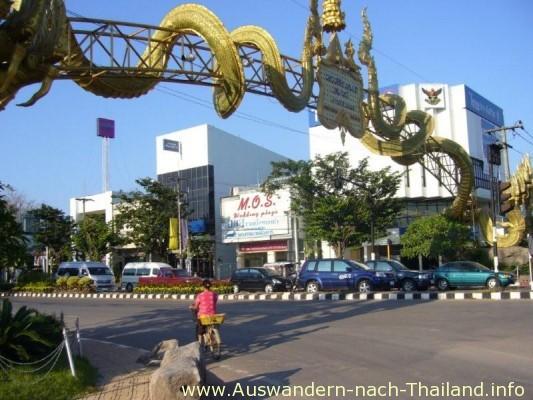 NongKhai Grenzuebergang ueber den Mekong nach Laos