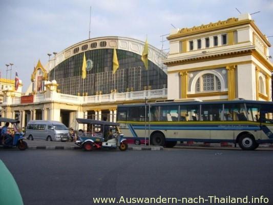 Hauptbahnhof Hualangpong in Bangkok