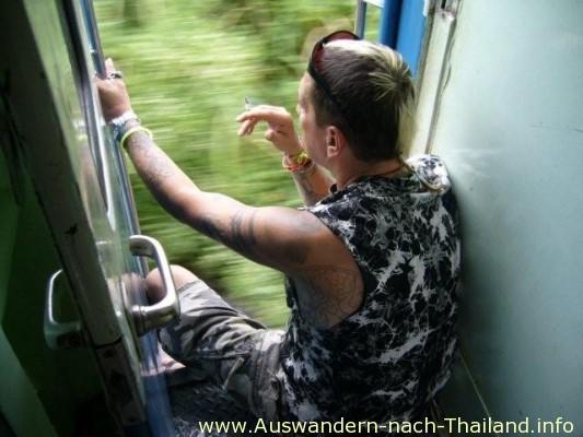 Zug von Bangkok nach NongKhai
