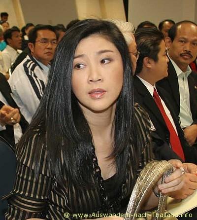 Yingluck-Shinawatra, Schwester von Thaksin