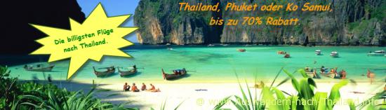 Billig Flüge nach Thailand und Weltweit 70% Rabatt