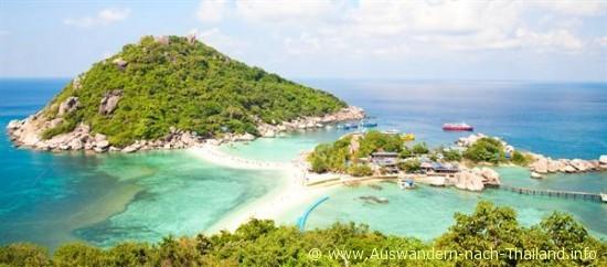 Die Insel Ko Tao in Thailand