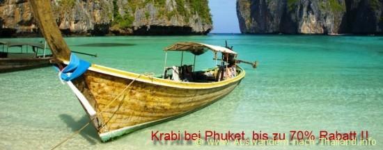 Krabi bei Phuket in Thailand