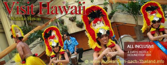 billig Flug nach Hawaii